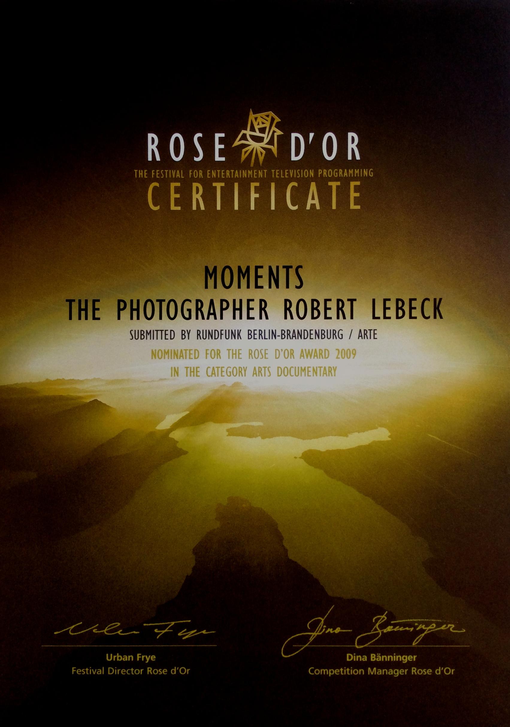 Rose d'or 2009