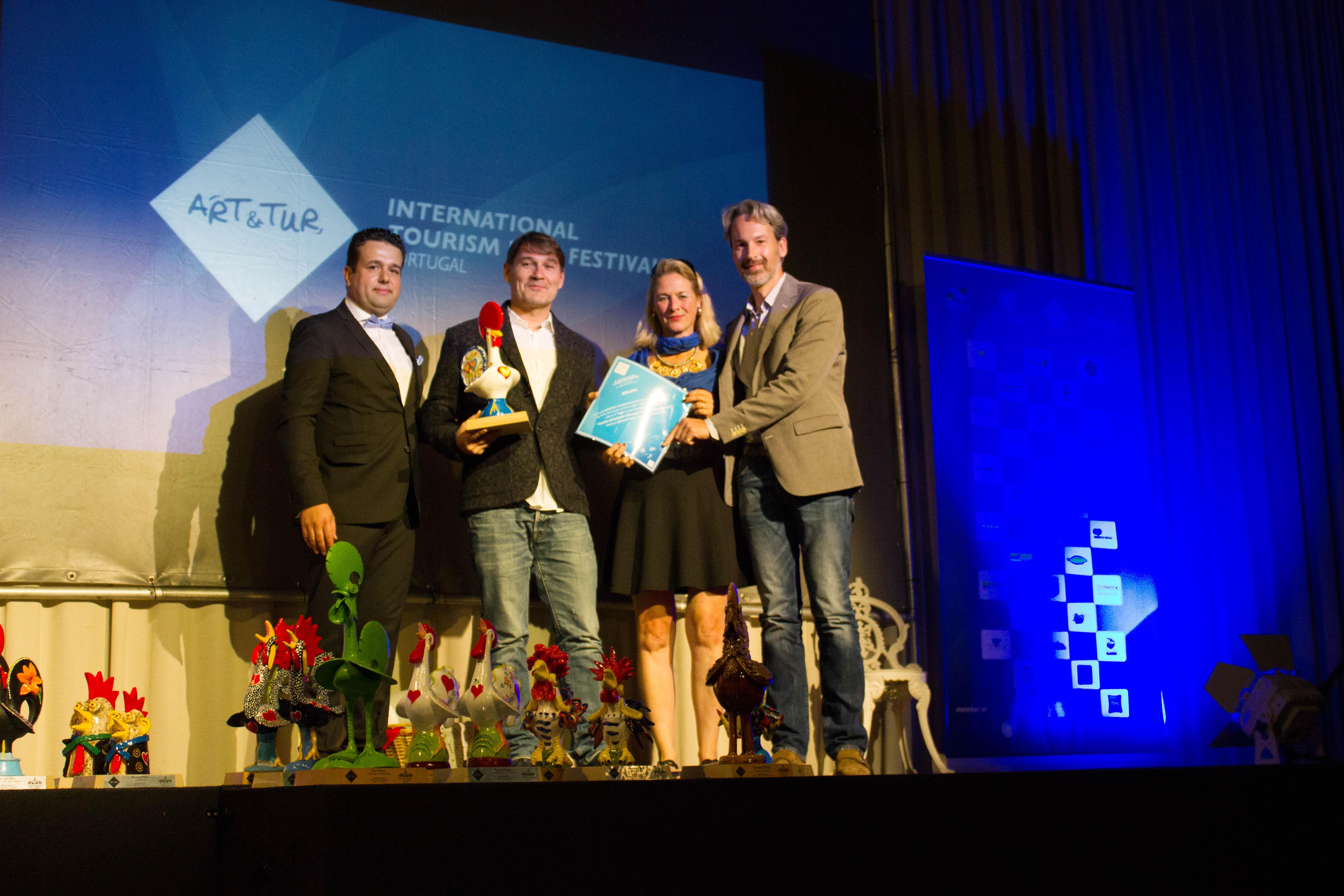 Jeremy JP Fekete : 1. Prize für Cultural Tourism national 2015