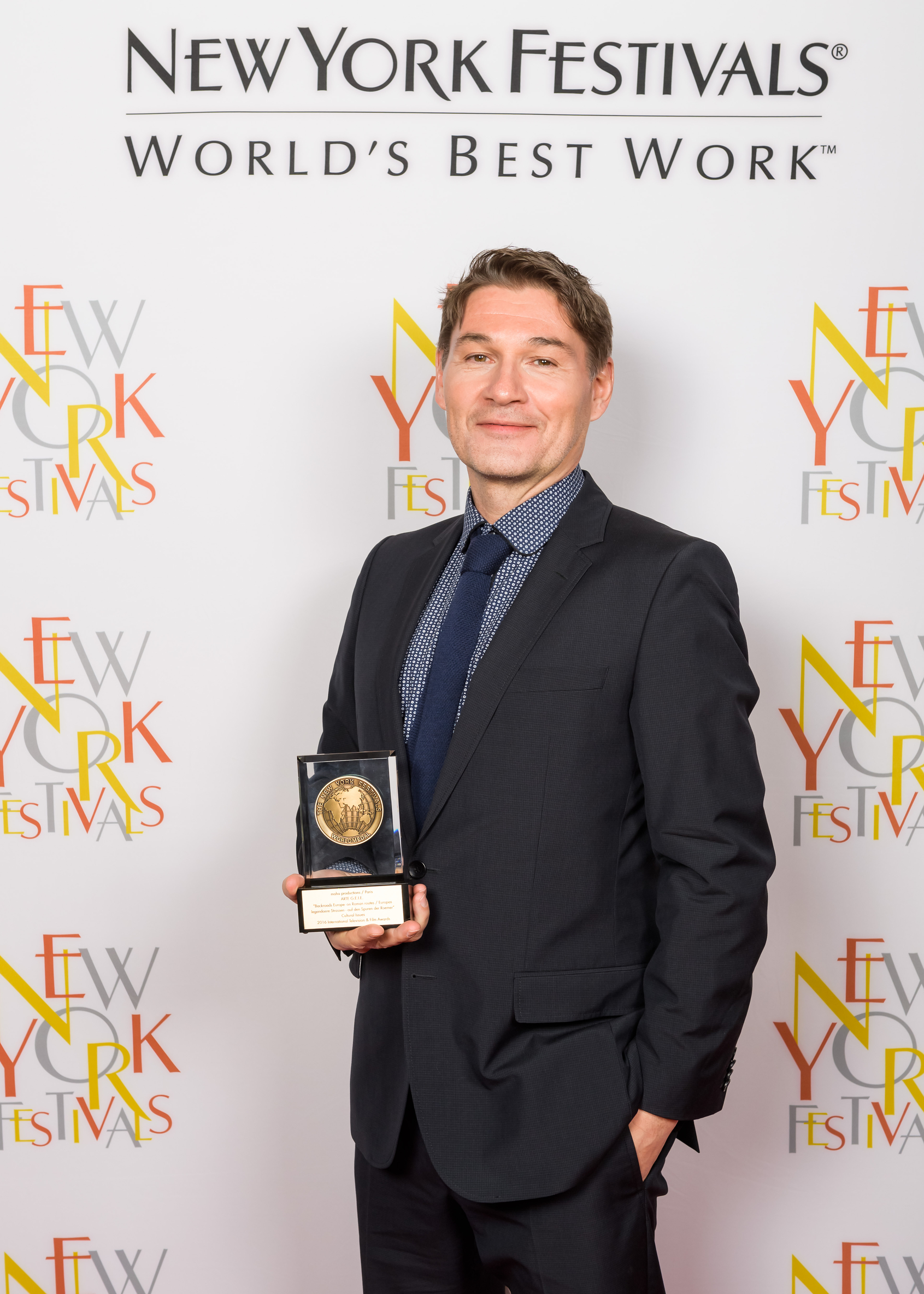 The 2016 New York Festivals  international Film & TV Awards; 5/19/2016