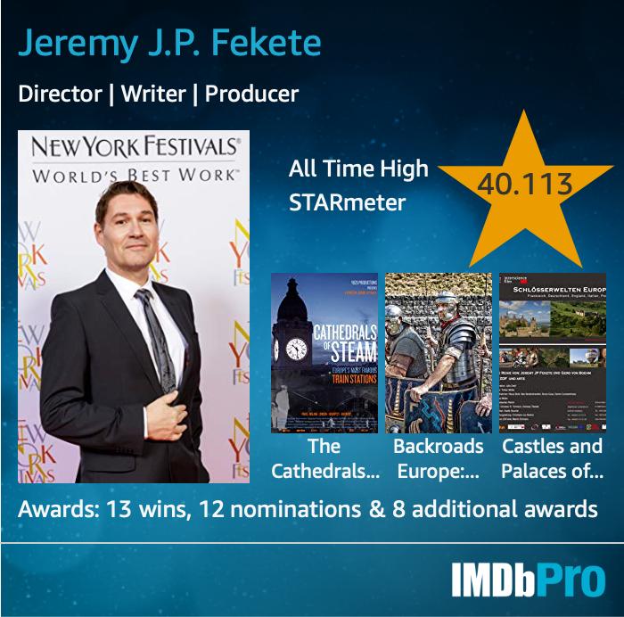 Jeremy JP Fekete, IMDb PRO