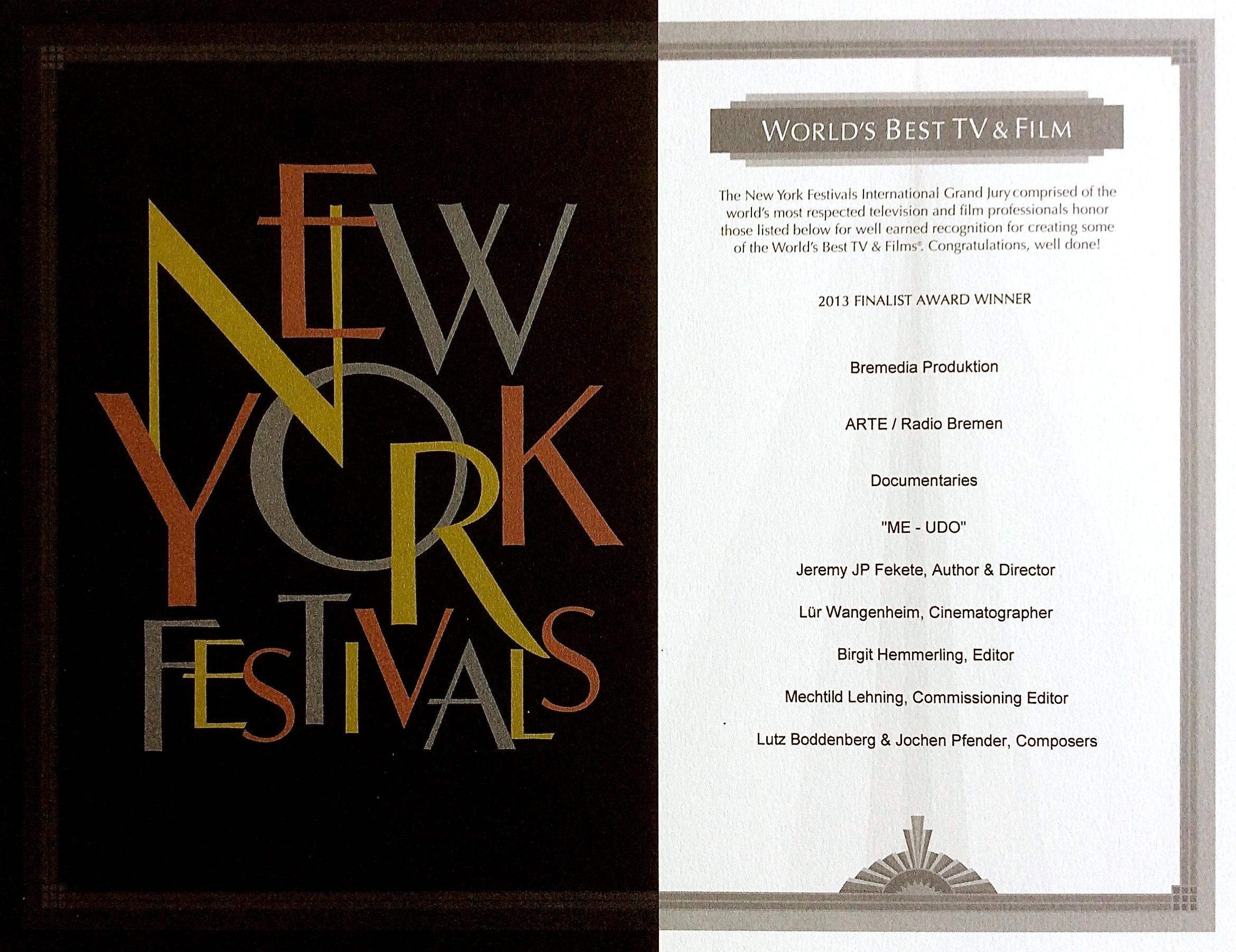 New York Festivals 2009
