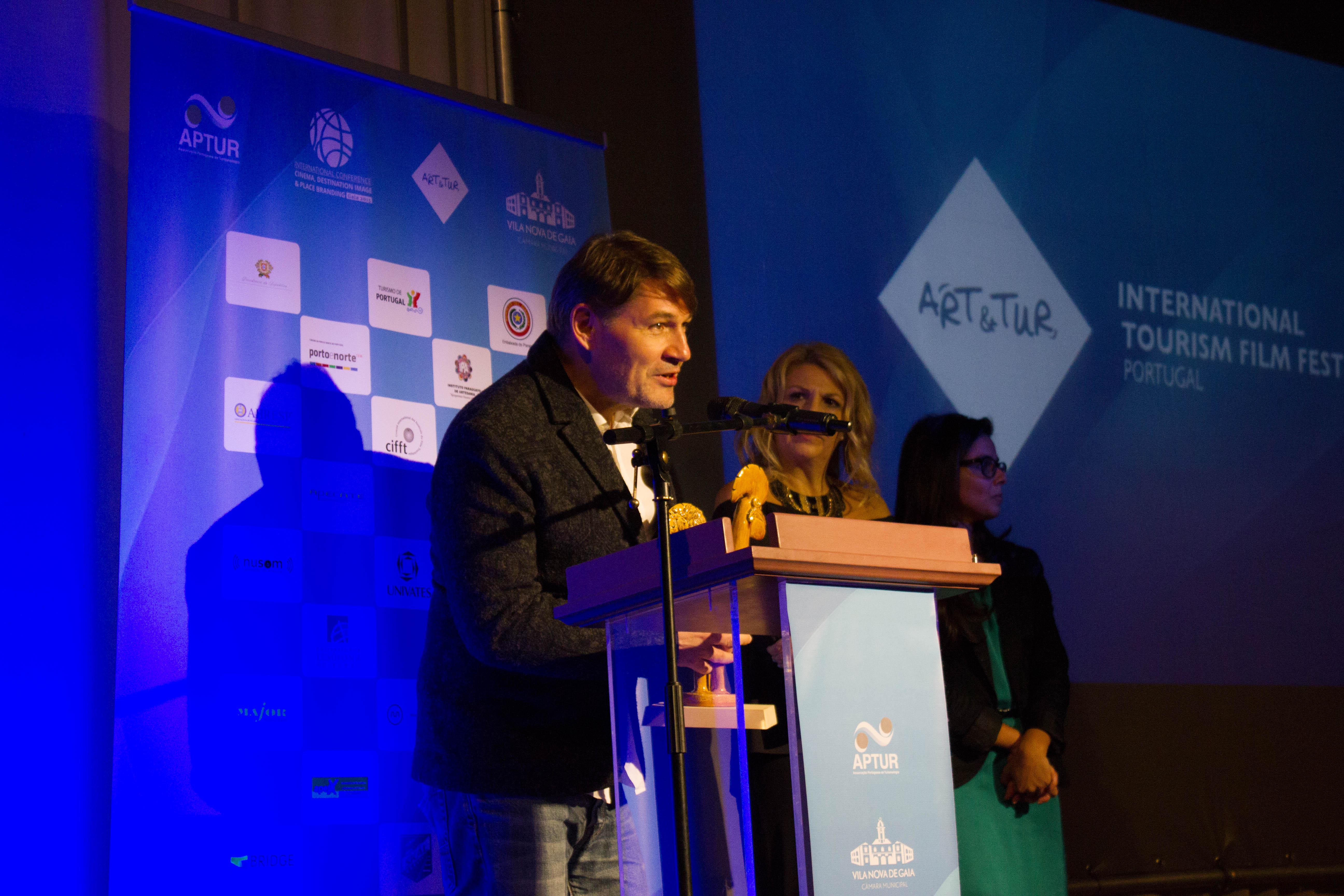 WINNER 2015, JEREMY JP FEKETE, BEST INTERNATIONAL DOCUMENTARY E